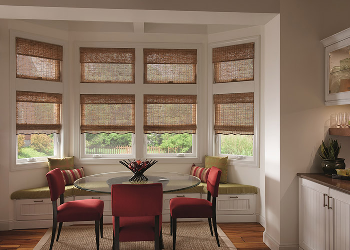 Graber Roman Style Woven Shades