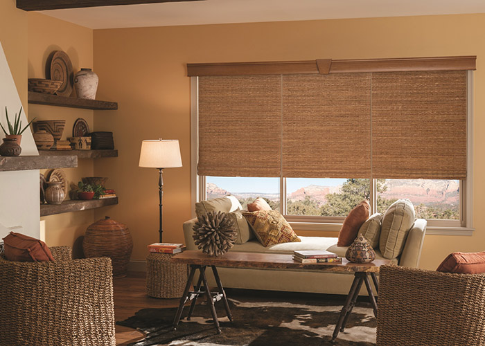 Graber Woven Shades Living