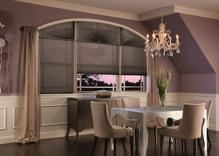 Graber Cellular Shade with arches
