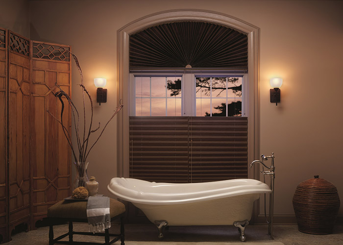 Graber top down bottom up pleated shades